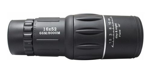monóculo 16x52 66/800 profissional tático luneta telescópio