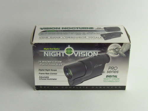 monoculo de vision nocturna night owl optics xgenpro 3x - 6x