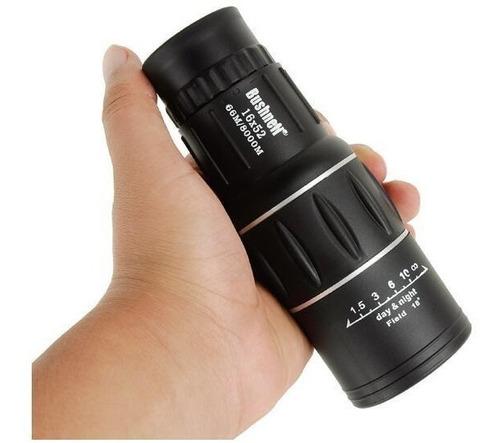 monóculo luneta 16x52 profissional tático telescópio