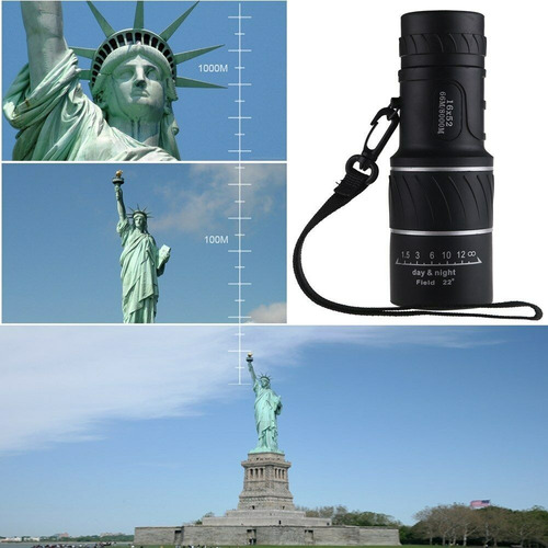 monoculo profissional luneta 16x52 tatico 66-8000m