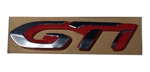 monograma emblema logo de peugeot 208 gti 100% original