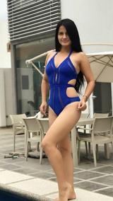 Playa Traje Monokini Baño Color Blanco Body Small De Sexy WE2DHI9