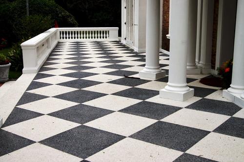 monolítico lavado, pulido, hormigón alisado, escaleras