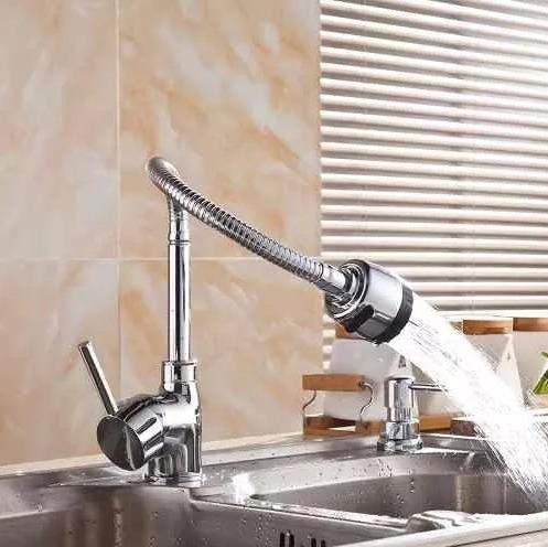 monomando ducha flexible lavaplatos cocina grifería  bigbull
