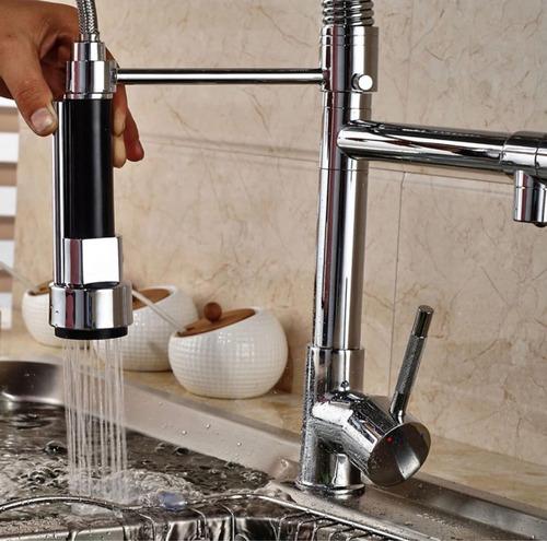 monomando llave mezcladora grifo cocina tarja r0-100