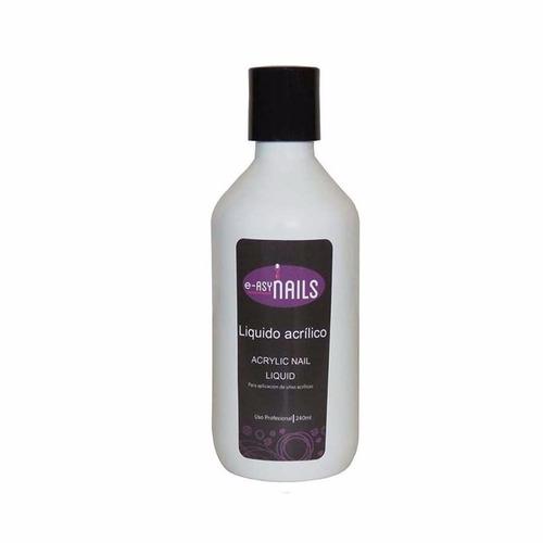 monómero - liquido acrílico, material de acrílico 240ml