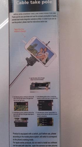 monopad baston para selfie celular samsung