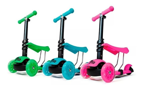 monopatin 3 ruedas infantil scooter luz 720 3 en 1