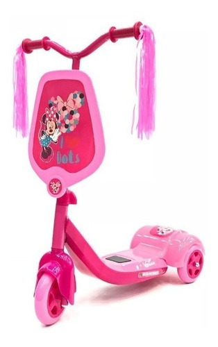 monopatin 3 ruedas luz minnie disney babymovil 7350