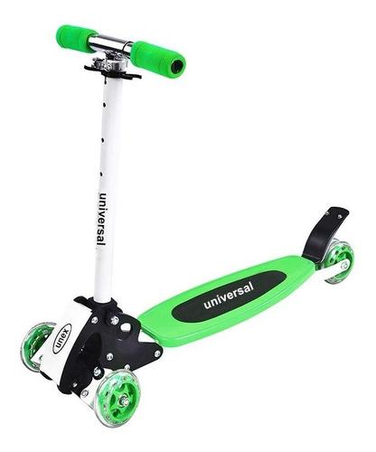 monopatin 4 ruedas plegable scooter reforzado niños colores