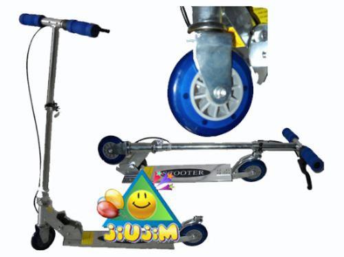 monopatin aluminio freno t/bici reforzados! calidad jiujim