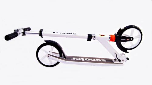 monopatin aluminio plegable rueda grande 200 mm skate patin