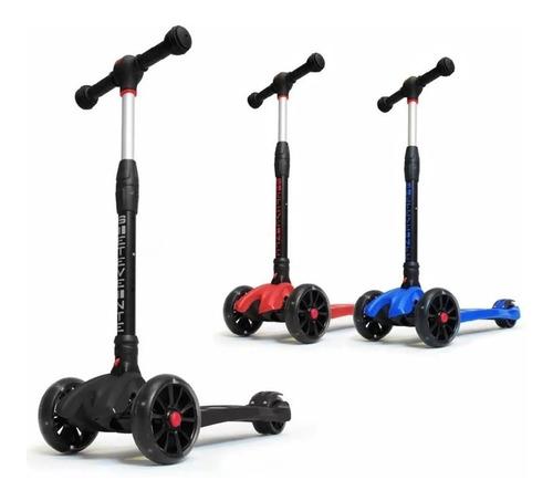 monopatin cobra 720 scooter con luz de 4 ruedas (no envios)
