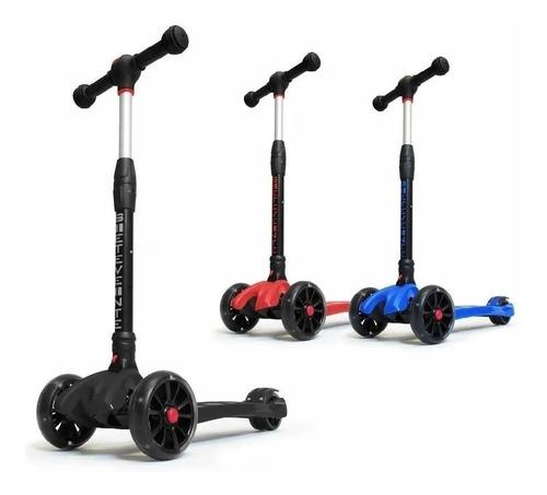 monopatin cobra scooter 720 luces profesional plegable niños