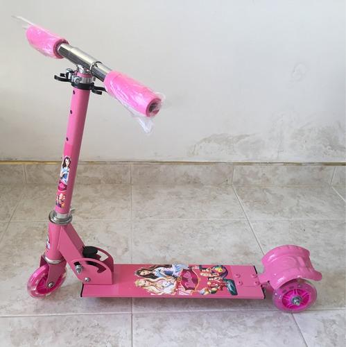 monopatín con luz niño niña regalo cars ben10 princesa