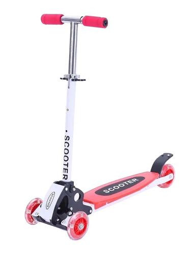 monopatin cuatri scooter 4 ruedas reforzado novedad + cuotas