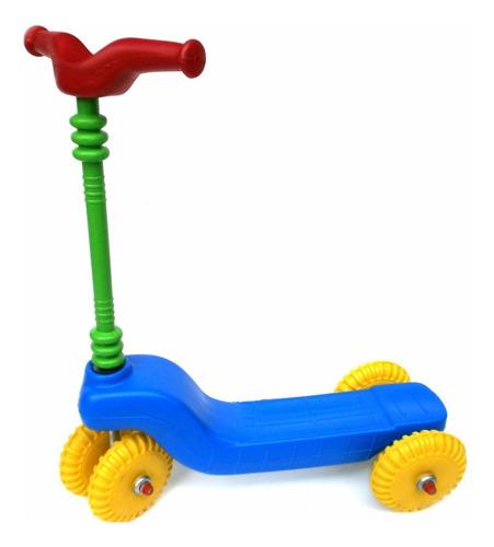 monopatin de 4 ruedas plastico irrompibles planeta juguete