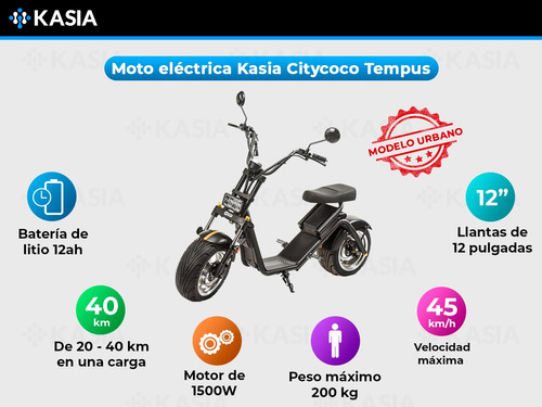 monopatin electrico citycoco kasia tempus clasica eec