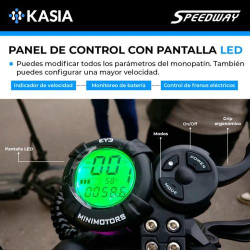 monopatin electrico dualtron speedway leger minimotors veloz