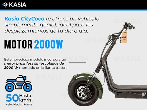 monopatin electrico kasia citycoco lenola triciclo
