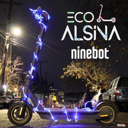 monopatín eléctrico ninebot max g30/ 45km aut bateria litio