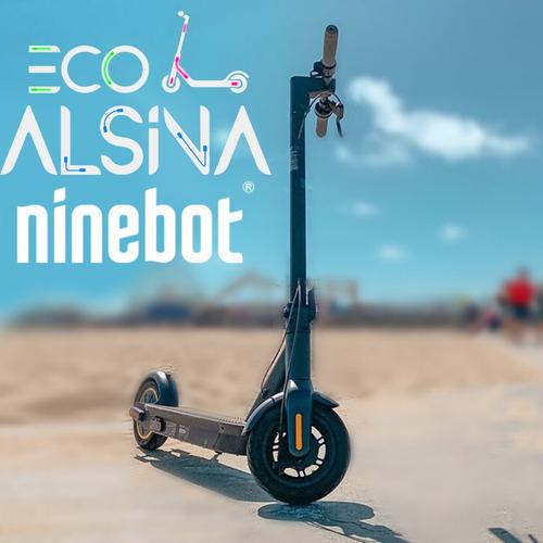 monopatín eléctrico ninebot max g30 by segway no xiaomi