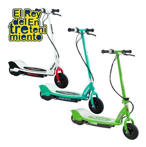 monopatin eléctrico razor e200 scooter marca n1 usa - el rey