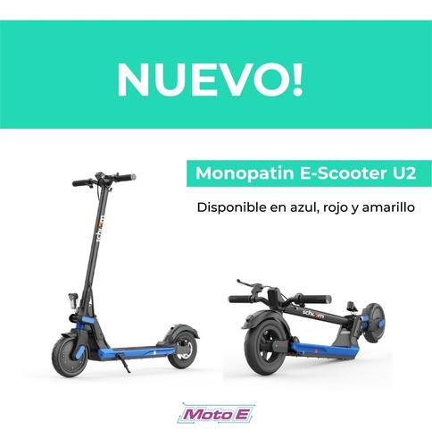 monopatin electrico scooter u2 moto e