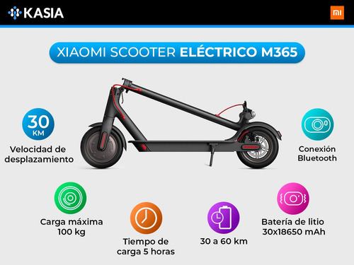 monopatin electrico xiaomi mijia m365 version standard