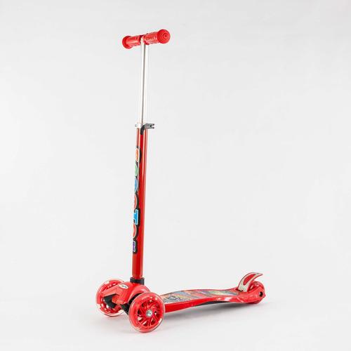 monopatín o scooter de cars cod. 0072r-1