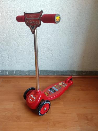 monopatín scooter cars 3 ruedas