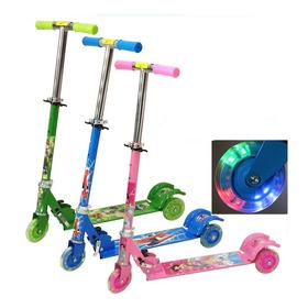 Monopatin Scooter De 3 Ruedas Para Niño Y Niña