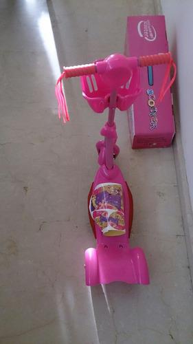 monopatin scooter de princesas disney nuevo