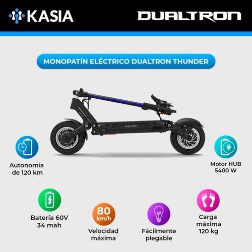 monopatin scooter electrico dualtron minimotors thunder