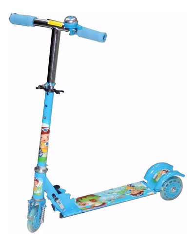 monopatin scooter metal 3 rued luces celeste / tecnofactory