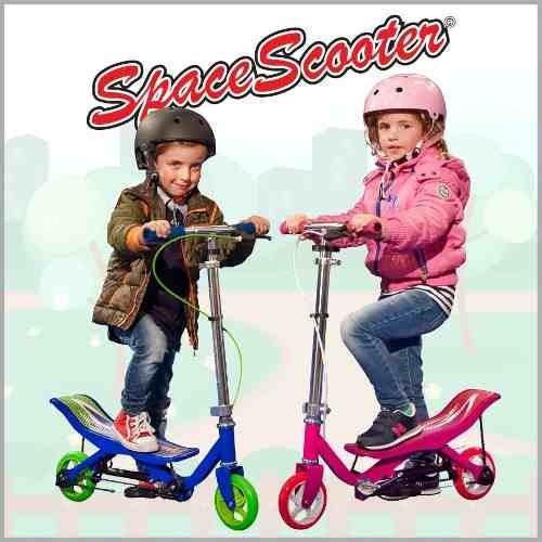 monopatin space scooter a cadena c/ freno coutas sin interés