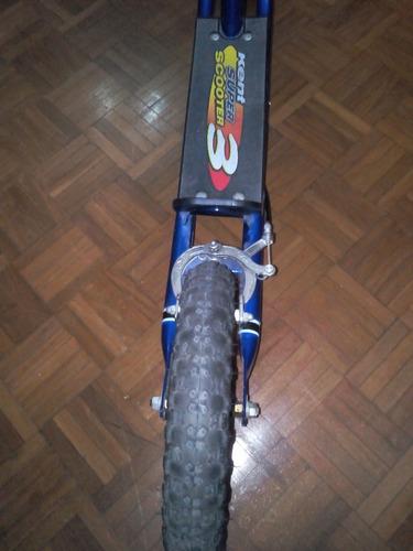 monopatín tipo scooter 3 (marca kent)(usado).