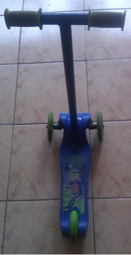 monopatin triciclo para niños y niñas