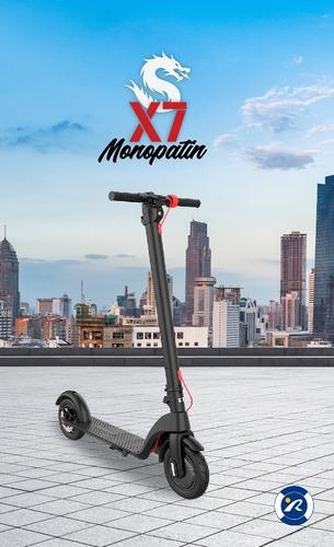 monopatín x7 bateria extraible - sunra centro / d