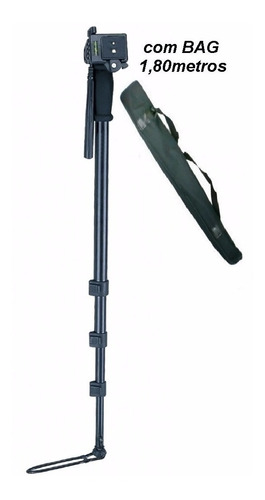 monopé 1005 c/ engate rápido - altura até 1,80mt suporta 3kg