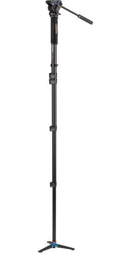 monopé vídeo benro a49fds4 altura 1,85m c/ cabeça hidráulica