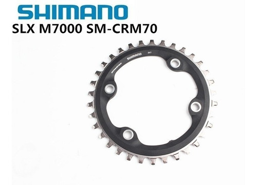 monoplato shimano m70 - slx m7000 - 34 t. asimetrico  bdc96