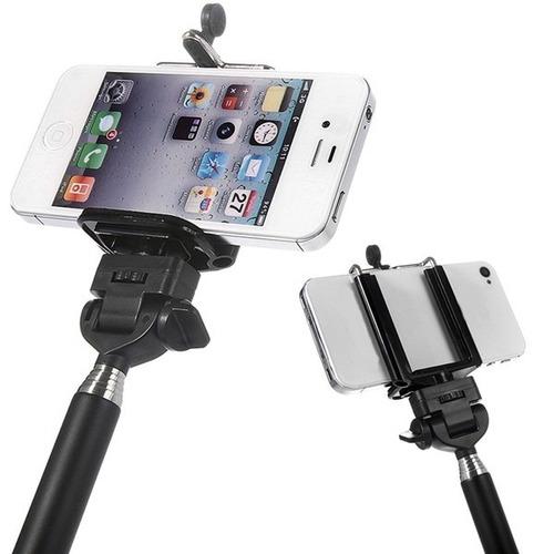 monopod +adaptador para celular/smartphone, iphone, selfie