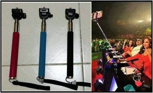 monopod baston bluetooth para celulares. toma fotos selfies!