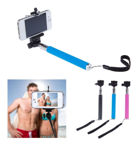 monopod baston - palo selfie android iphone + bluetooth