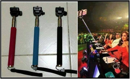 monopod baston para camaras y celulares. toma fotos selfies!