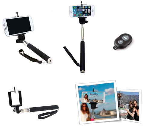 monopod baston selfies bluetooth camaras y celulares
