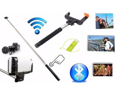 monopod bluetooth baston selfie aluminio extensible celular