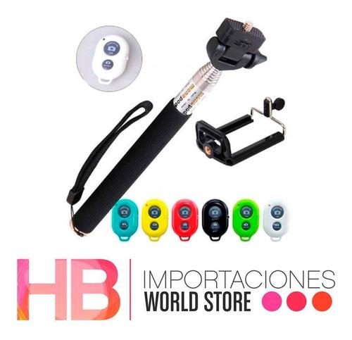 monopod bluetooth baston selfie extensible/ hb importaciones
