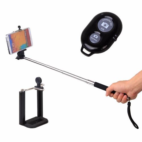 monopod bluetooth baston selfies palo selfie camaras celular
